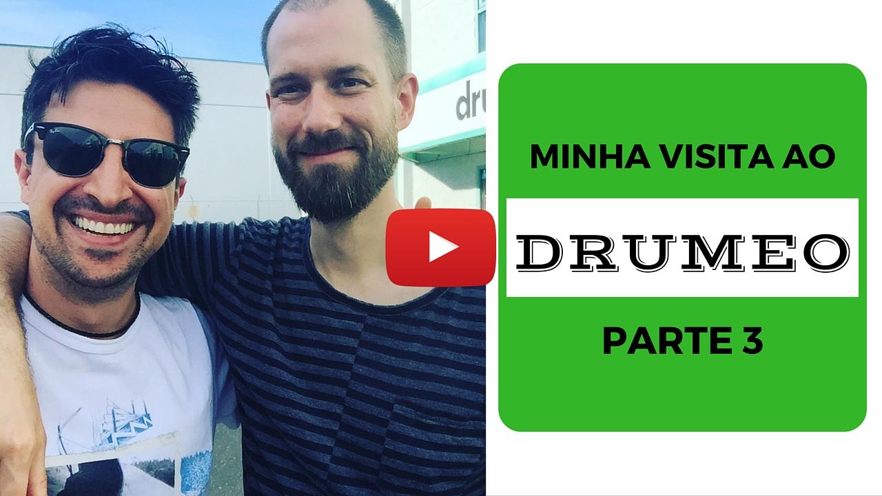 Visita ao Drumeo – Parte 3 – Jam com Benny Grebb!