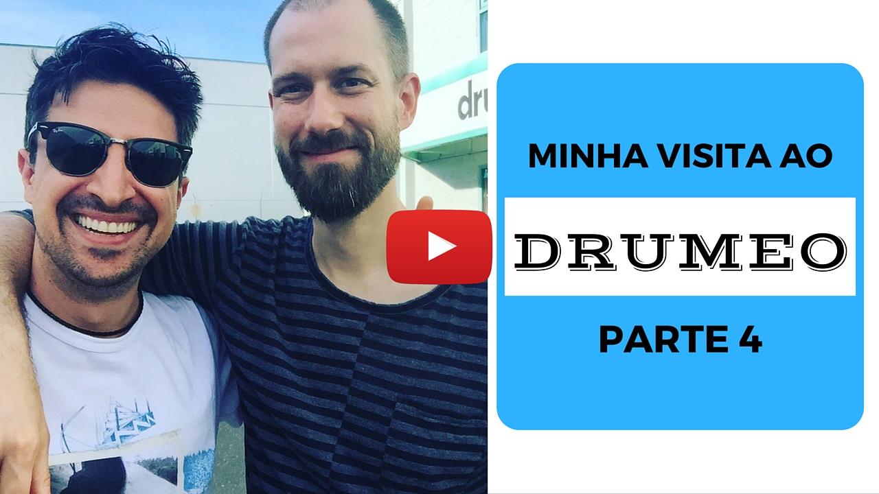 Visita ao Drumeo – Parte 4 – Entrevista com Benny Grebb!